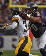 NFL Jersey's Women's Baltimore Ravens Za'Darius Smith Pro Line Team Color Jersey